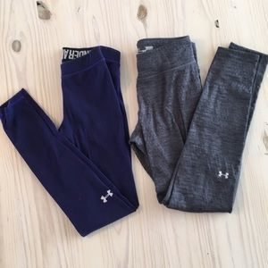 Two pairs of Under Armour pants